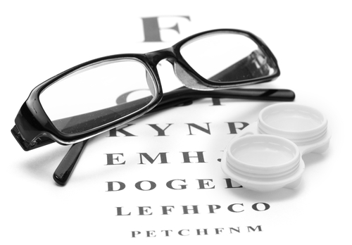 contact lens and glasses prescriptions