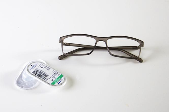 8321831936bb Forskellen på kontaktlinser og briller med styrke