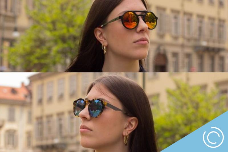 linser med solbrille effekt