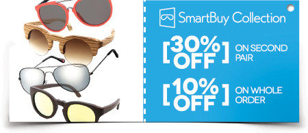 9f6edb4cb1d Save big on these coupons! SAVE BIG and get 30% off your 2nd SmartBuyGlasses  ...