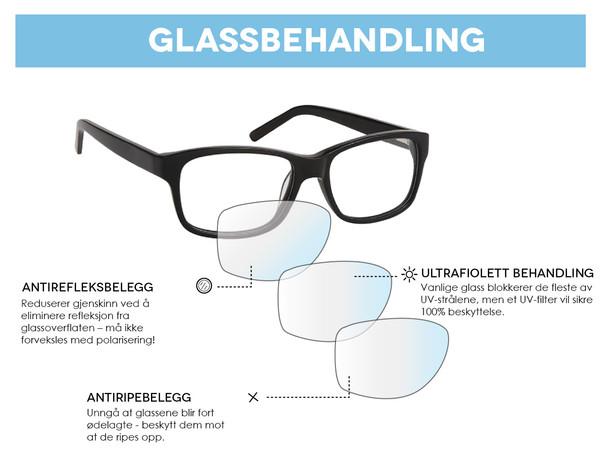 Hvordan velge best mulig glass til solbrillene