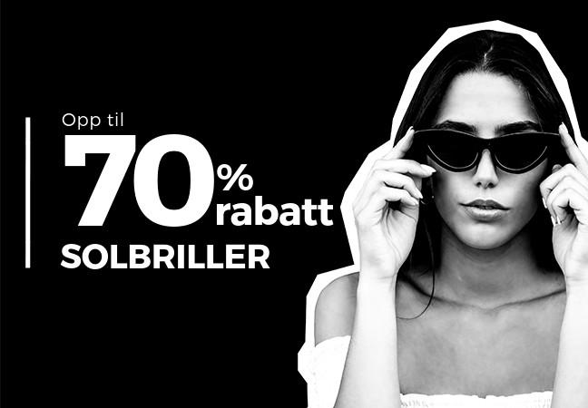d3687c4d Ta en titt på vår eksklusive liste av solbriller og finn et par på opp til  70% avslag. Finner'n er vinner'n!